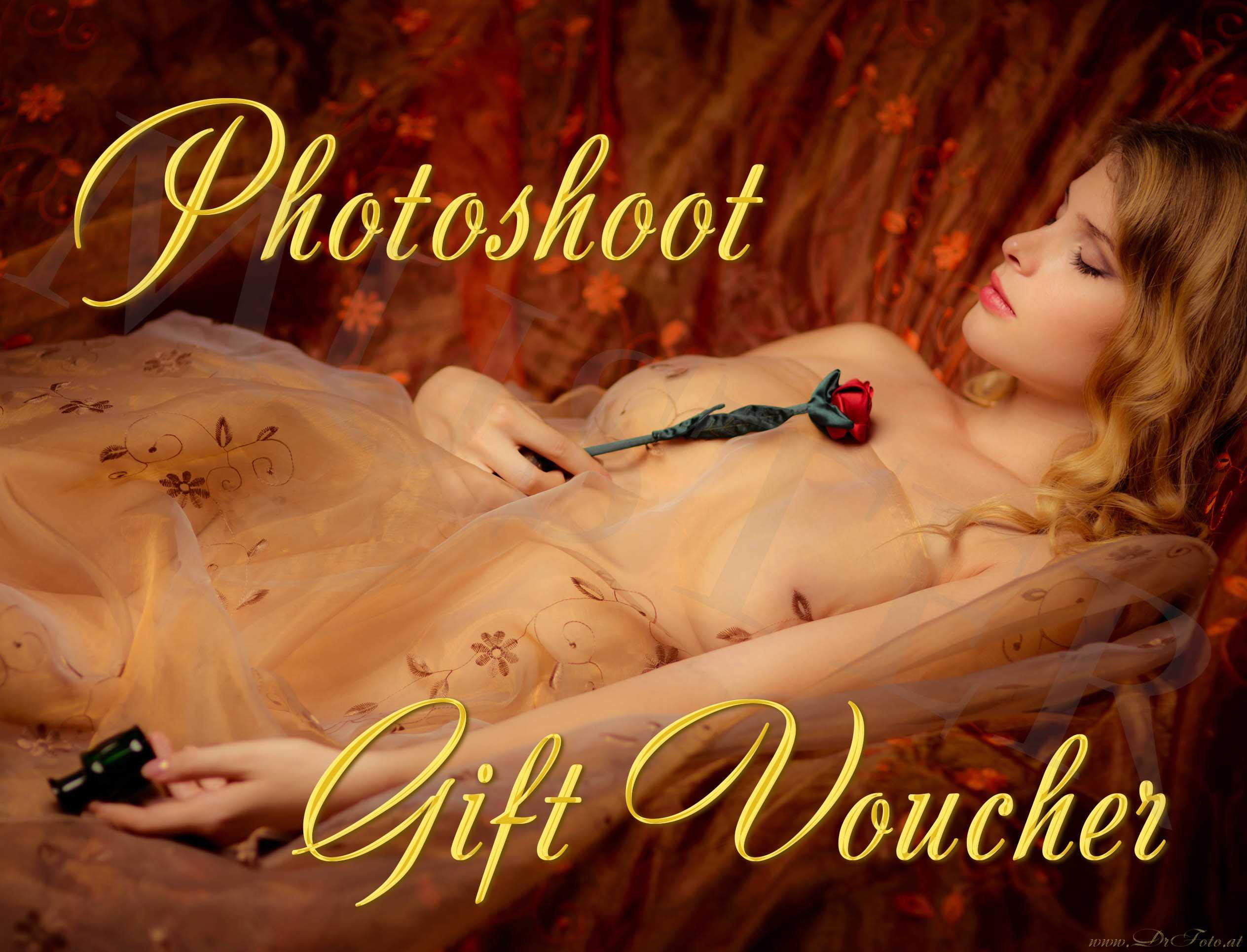 Photoshoot Gift Voucher Front