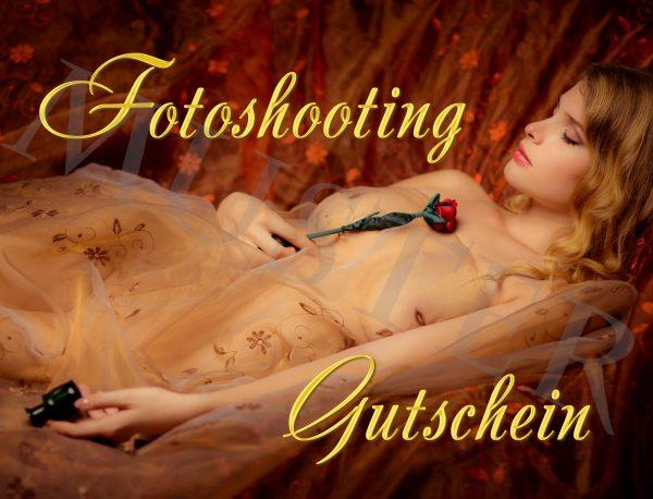 Fotoshooting Gutscheine - Vorderseite