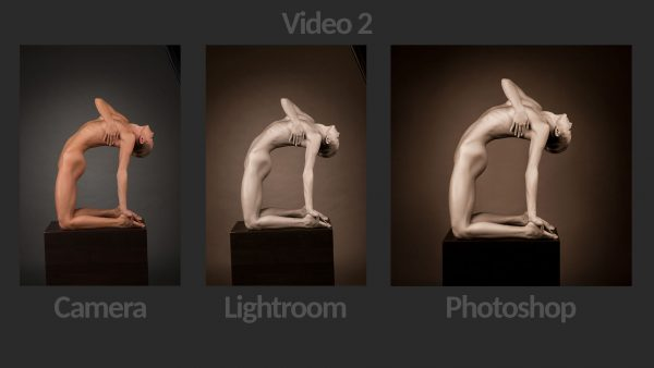 Fine Art Nude Retouching Photoshop Lightroom - Video 2