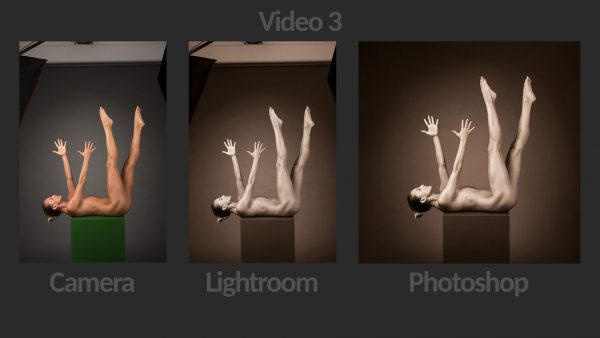 Fine Art Nude Retouching Photoshop Lightroom - Video 3