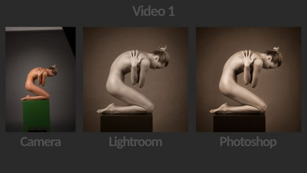 Fine Art Nude Retouching Photoshop Lightroom - Video 1