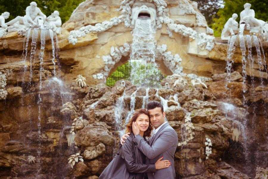 Vacation Photographer Vienna - Fountains in Schönbrunn gardens