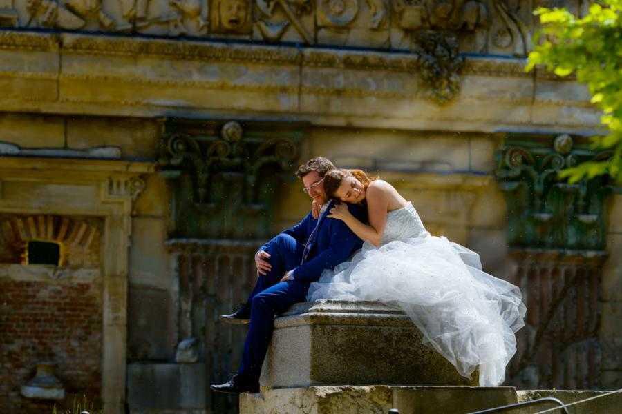 Vacation Photographer Vienna - Roman Ruins in Schönbrunn gardens