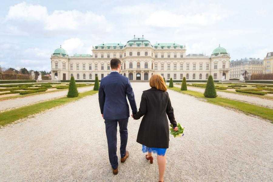 Vacation Photographer Vienna - Belvedere Palace