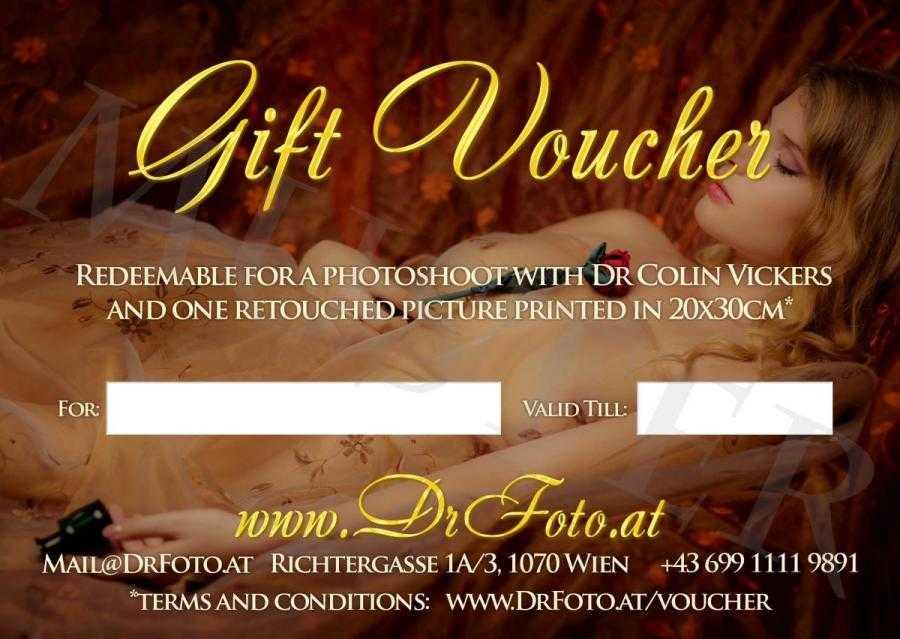 Photoshoot Gift Voucher - Back